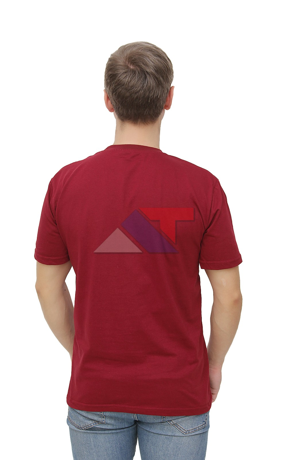 777e03dbdd5d ... Футболка кулирка цвет бордо в оптово-розничном интернет-магазине из  Иваново. Футболка кулирка